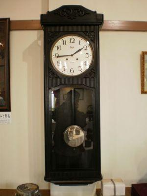 鳳来館の大きな古時計