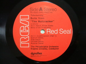 RCA Red Seal ARL1-0027 LP Label A