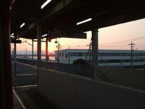ある駅から・・・