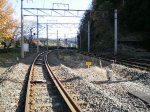 線路の向こうに何がある・・・