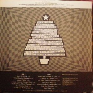 RCA Red Seal LSC-3326, A Christmas Spectacular - The Greatest Hits of Christmas.