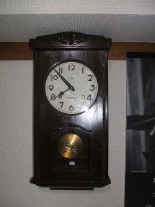 壁掛け振り子時計(SEIKOSHA)