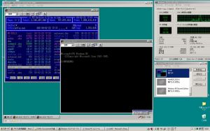 Windows95(SVGA1024x768) on Virtual PC 2007
