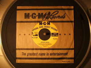 MGM SPECIAL DISK JOCKY RECORD K12392(EP)