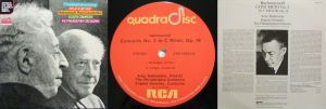 RCA Red Seal Quadradisc ARD1-0031