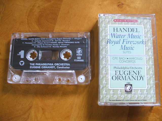 CBS Odyssey Music Compact Music CassetteYT39502