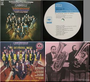 The Antiphinal Music of Gabrieli - LP & CD