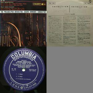 日本コロムビア/Columbia Masterworks RL-139 LP