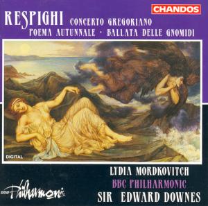 Chandos CHAN9232/RESPIGHI: Concerto Gregoriano & Poema Autunnale