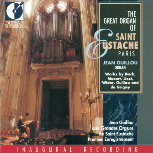 DORIAN RECORDINGS DOR-90134, The Great Organ of St. Eustache