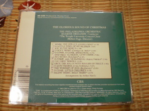 CBS MK 6369, The Glorious Sound of Chirstmas