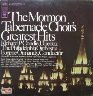 Columbia Masterworks MS6951 The Mormon Tabernacle Choir's Greatest Hits - 1