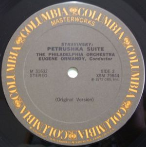 Columbia Masterworks M31632 Gray Label