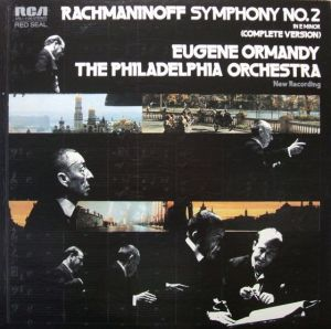 RCA Red Seal ARL1-1150 Rachmaninoff Symphony no.2 Jacket1
