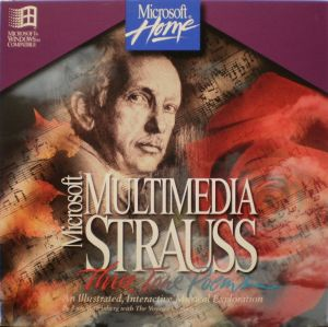 Microsoft Multimedia Strauss Booklet