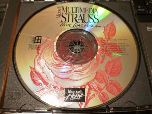 Microsoft Multimedia Strauss CD