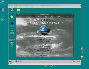 Mulitimedia Strauss on Virtual PC 2007