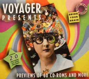 VOYAGER PRESENTS VERSION2.0 PREVIEWS OF 60 CD-ROMS AND MORE -1
