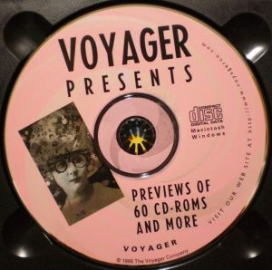 VOYAGER PRESENTS VERSION2.0 PREVIEWS OF 60 CD-ROMS AND MORE -3