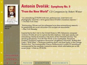 Voyager Presents Version2.0 - Antonin Dvorak Symphony no.9 From the New World CD Companion by Robert Winter