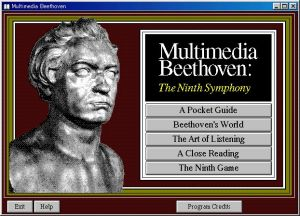 Legendary Multimedia - Multimedia Beethoven Contents