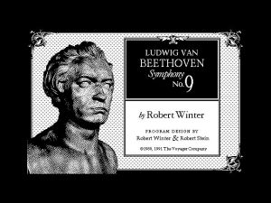 Voyager L.V.Beethoven Symphony no.9 by Robert Winter