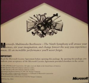 Legendary Multimedia - Multimedia Beethoven Booklet