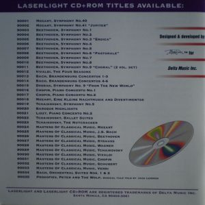 LaserLight Digital CD + ROM Titles