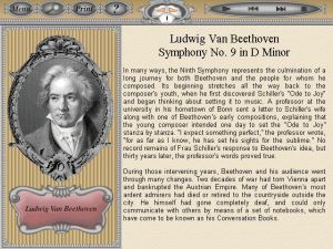 Laserlight Symphony No.9 Program Notes
