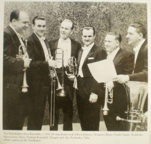 Philadelphia Brass Ensemble - SME/SC SBK63061 booklet より