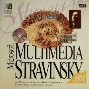 Microsoft Multimedia Stravinsky Booklet