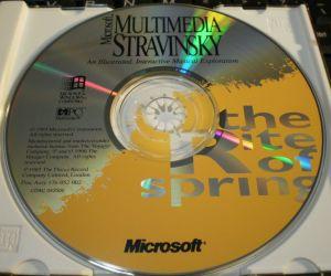 Microsoft Multimedia Stravinsky CD-ROM