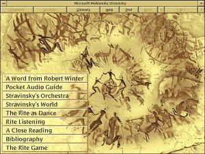 Microsoft Multimedia Stravinsky Chapters