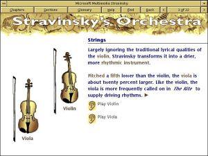 Microsoft Multimedia Stravinsky - Stravinsky's Orchestra - Strings