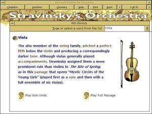 Microsoft Multimedia Stravinsky - Stravinsky's Orchestra - Strings - Viola