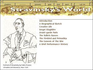 Microsoft Multimedia Stravinsky - Stravinsky's World