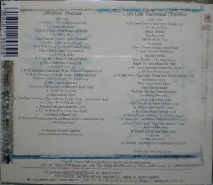 Plydor K.K. A&M Records POC-1545-6 Christmas Collection Song List