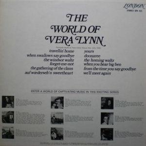 加LONDON SPA103 The World of Vera Lynn