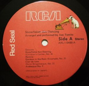 RCA Red Seal ARL1-0488 Label