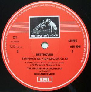 英EMI ASD3646 Label