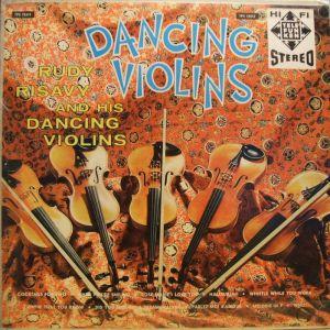 TELEFUNKEN TPS 12513 Dancing Violins - Rudy Risavy & His Dancing Violins Jacket