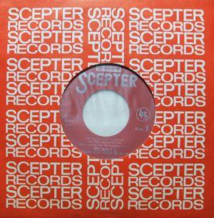 テイチク/SCEPTER UP-71-S 明日に向かって撃て サウンドトラック スリーヴとドーナツ盤