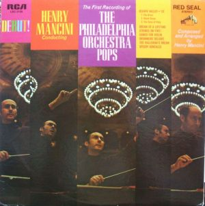 RCA Red Seal LSC-3106 Debut! Henry Mancini conducting The Philadelphia Orchestra Pops Jacket