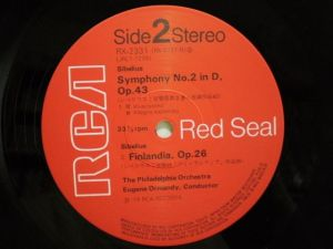 RCA Red Seal RX-2331 Label