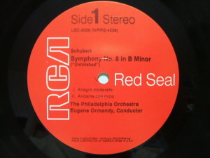 RCA Red Seal LSC-3056 Label 米国盤
