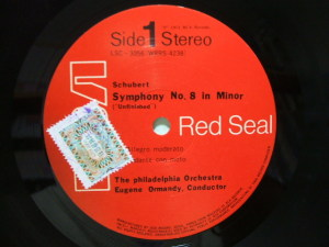 RCA Red Seal LSC-3056 韓国盤 Label