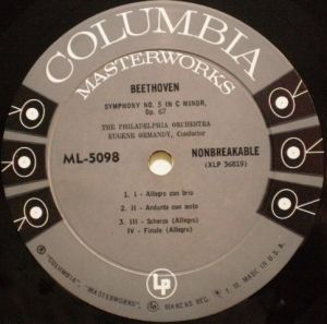 Columbia Masterworks ML 5098 6eyes Label