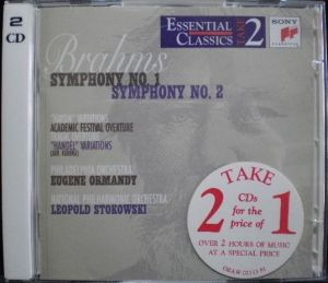 SME Sony Classical Essential Classical Take2 Series SB2K 63287