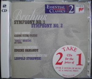 SME Sony Classical Essential Classical Take2 Series SB2K 63287