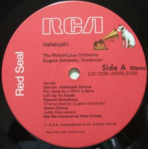 RCA Red Seal LSC-3226 Sided Dog Label